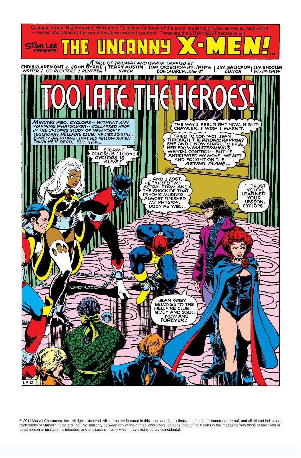 Uncanny X-Men (1963) issue 134 - Page 2