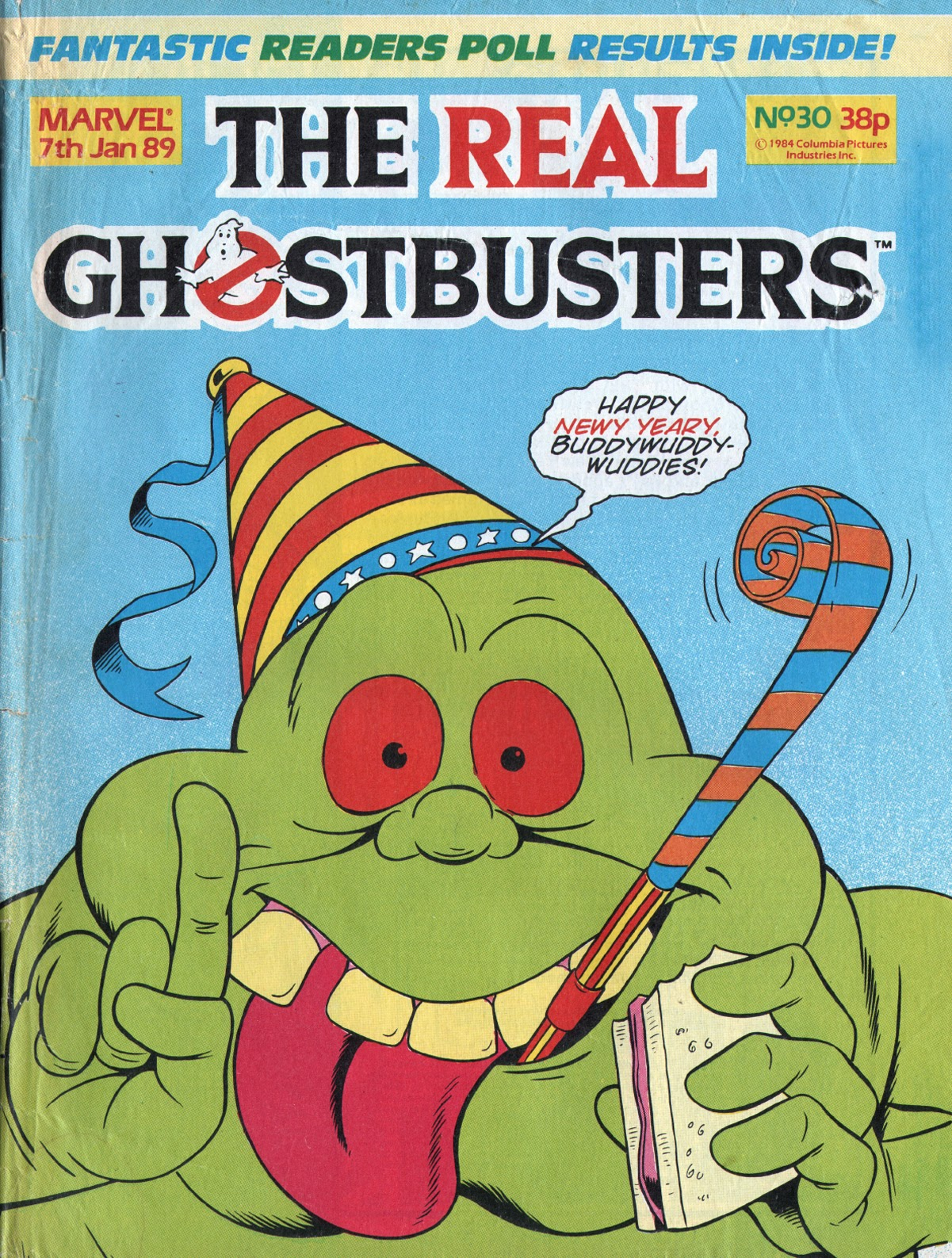 The Real Ghostbusters 30 Page 1
