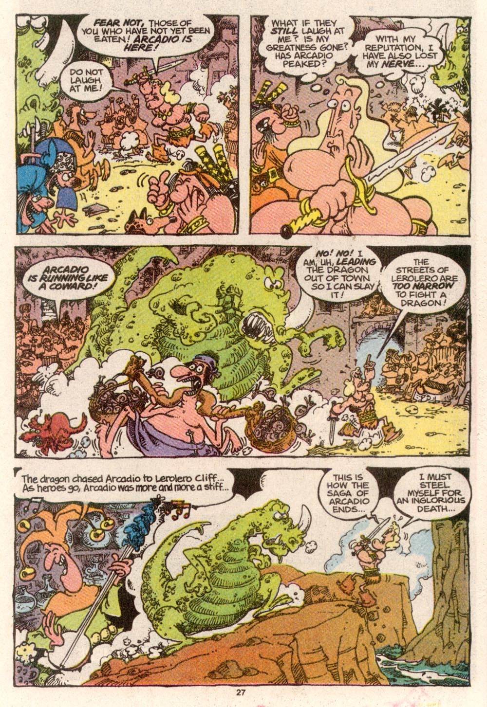 Read online Sergio Aragonés Groo the Wanderer comic -  Issue #68 - 22
