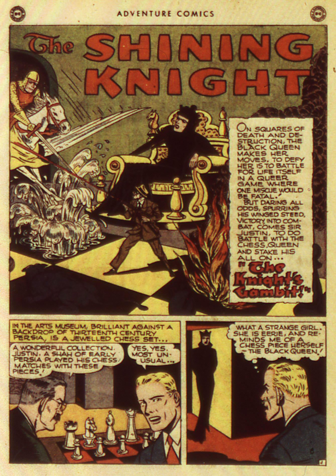 Read online Adventure Comics (1938) comic -  Issue #105 - 42