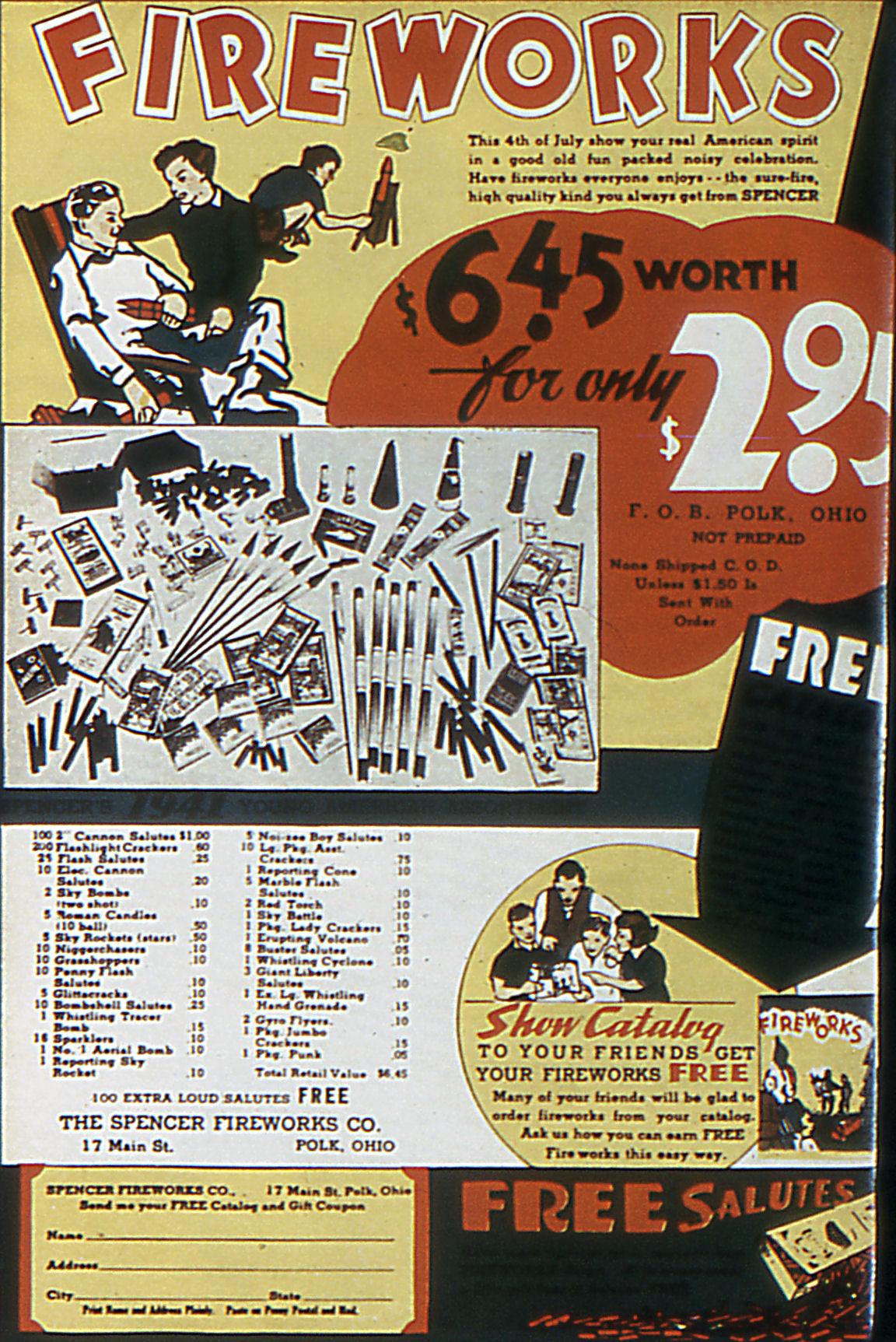 Read online Adventure Comics (1938) comic -  Issue #63 - 69