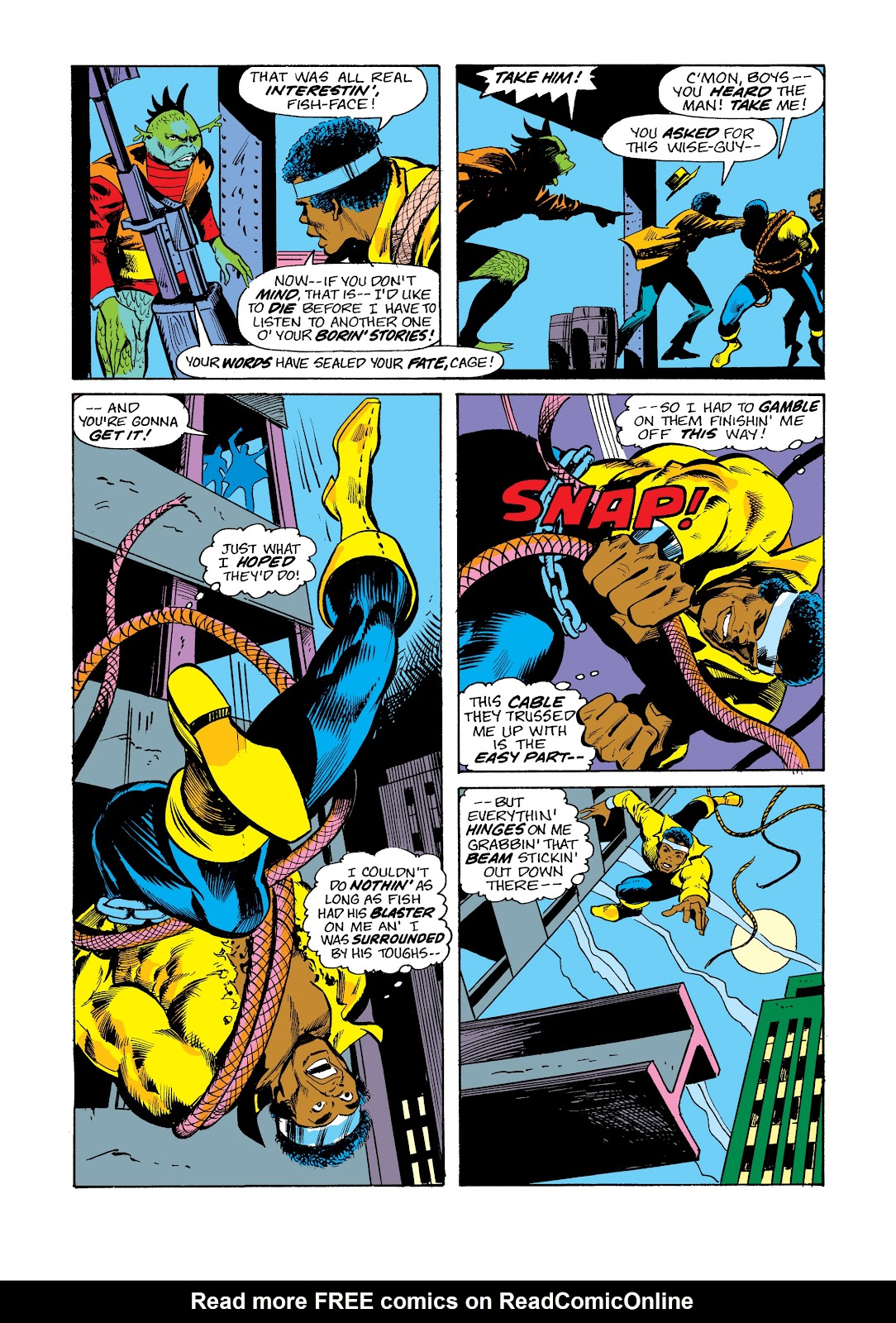 Read online Marvel Masterworks: Luke Cage, Power Man comic -  Issue # TPB 2 (Part 3) - 52