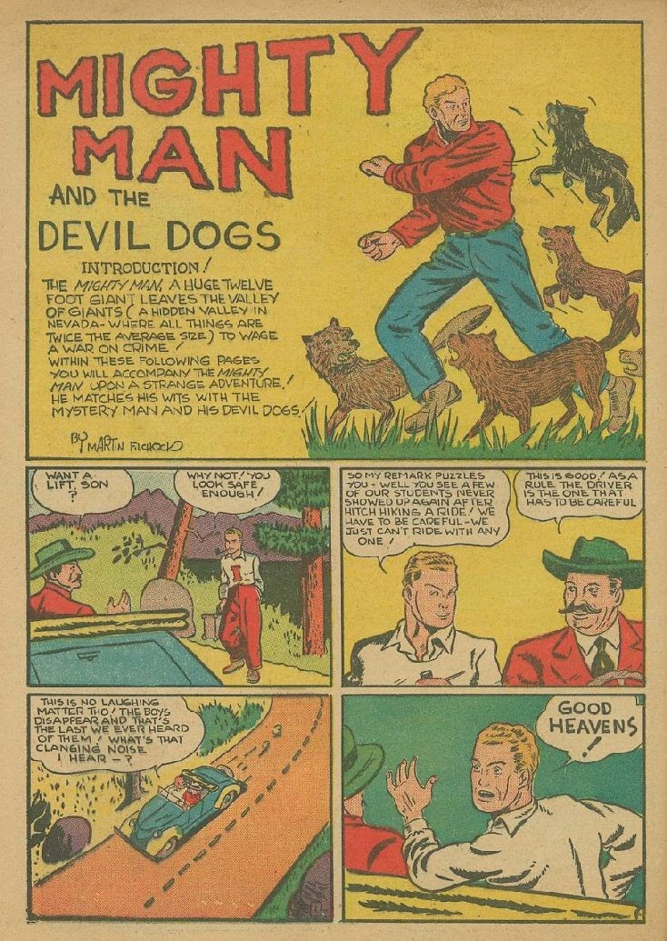 Read online Amazing Man Comics comic -  Issue #9 - 53