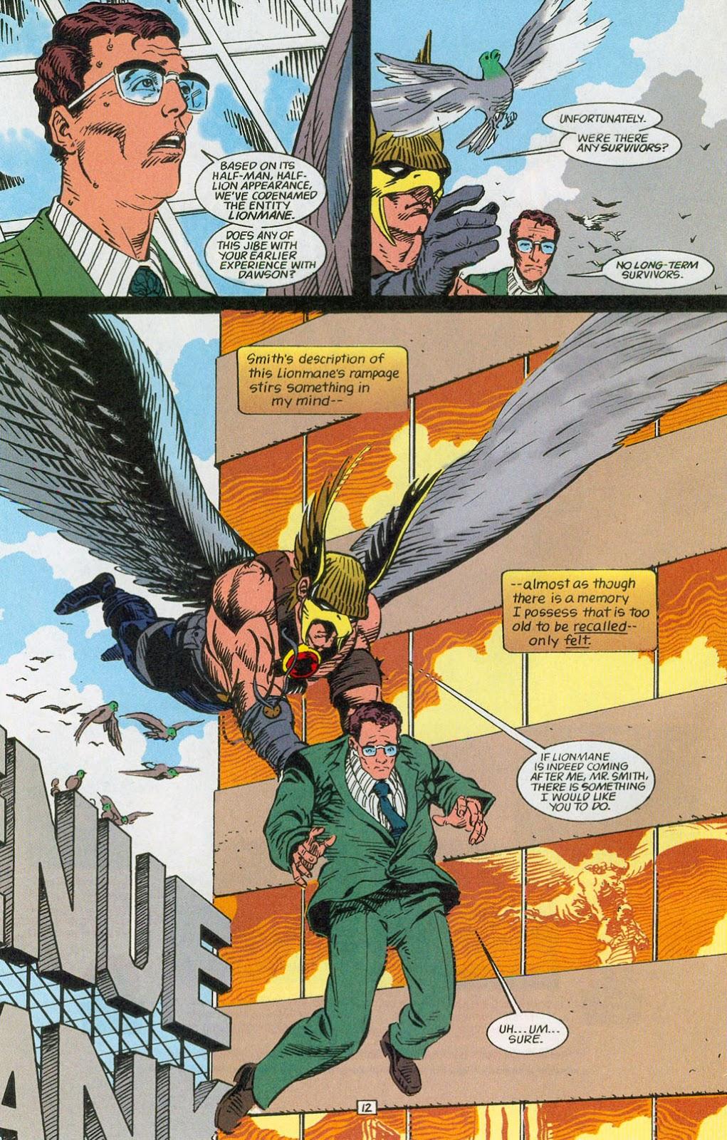 Hawkman (1993) Issue #24 #27 - English 14