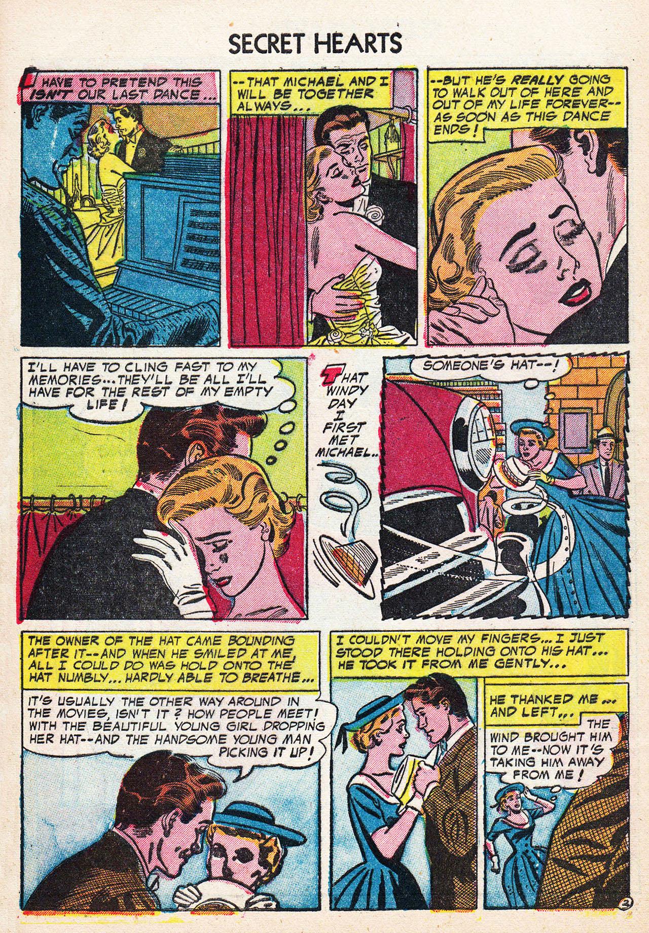 Read online Secret Hearts comic -  Issue #24 - 28
