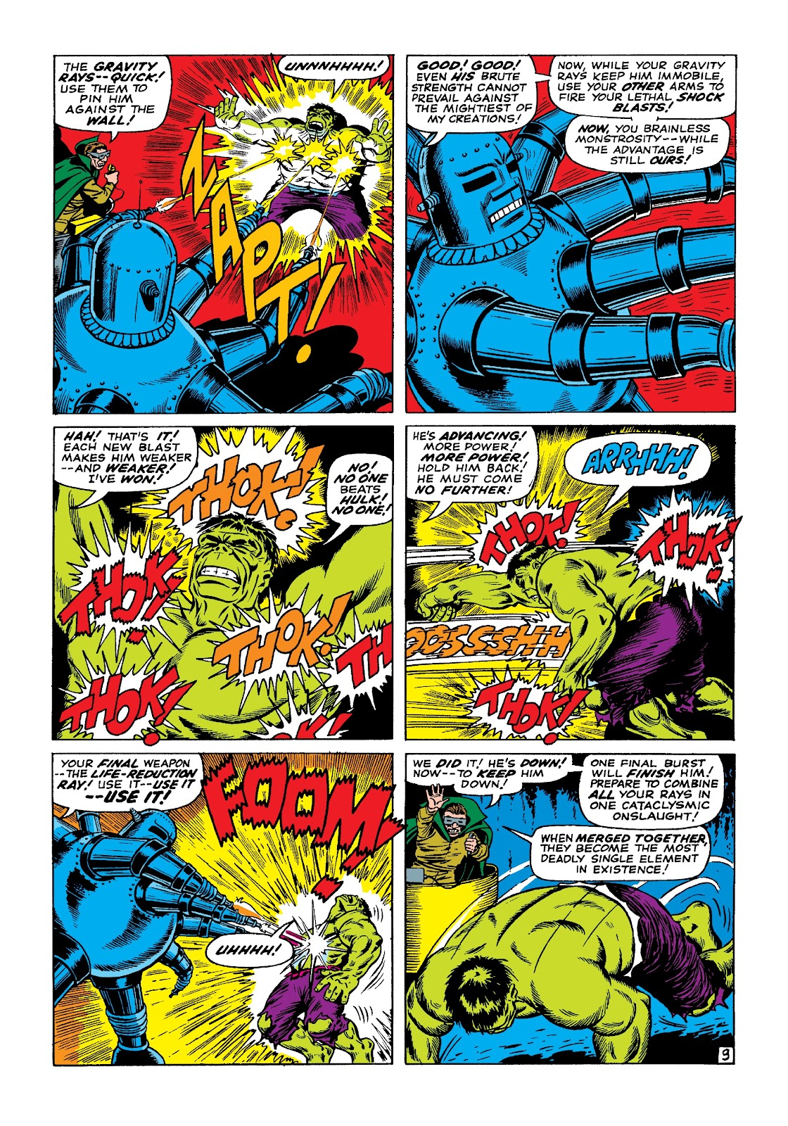 Read online Marvel Masterworks: The Incredible Hulk comic -  Issue # TPB 3 (Part 1) - 16