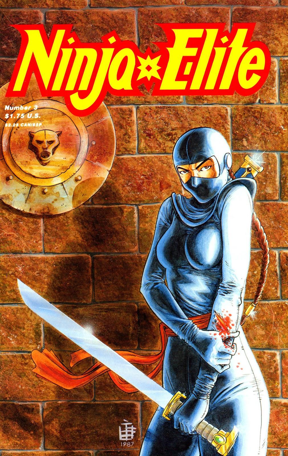 Ninja Elite issue 3 - Page 1