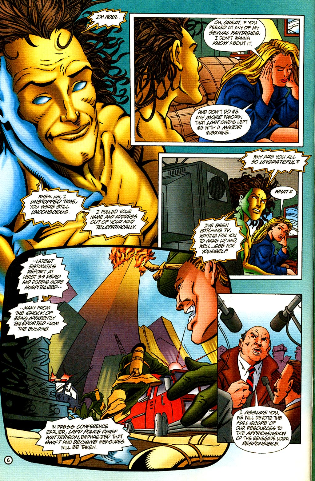 Read online Rune (1995) comic -  Issue #2 - 8