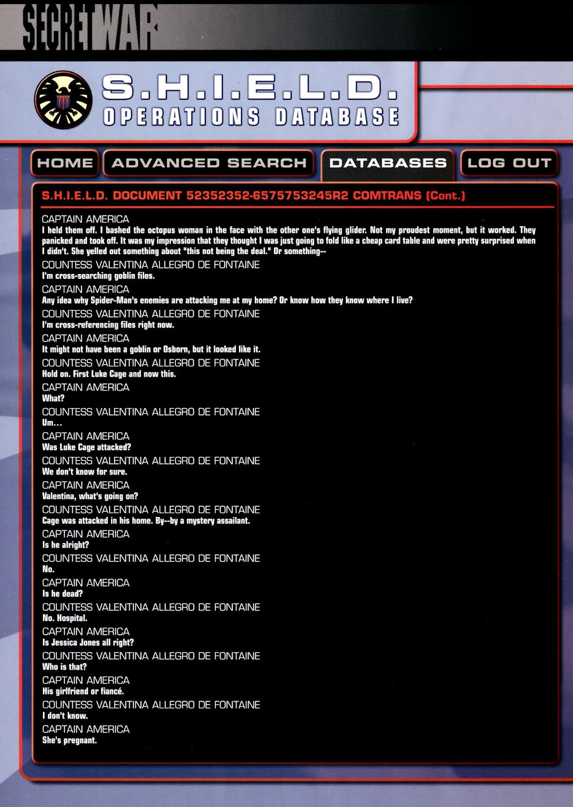 Read online Secret War comic -  Issue #3 - 28