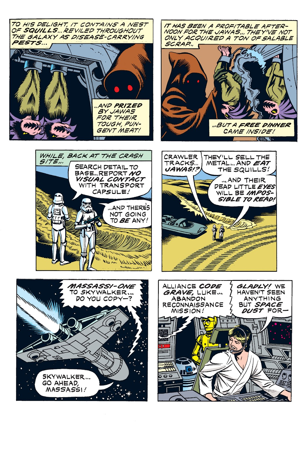Read online Star Wars Legends: The Newspaper Strips - Epic Collection comic -  Issue # TPB (Part 2) - 23