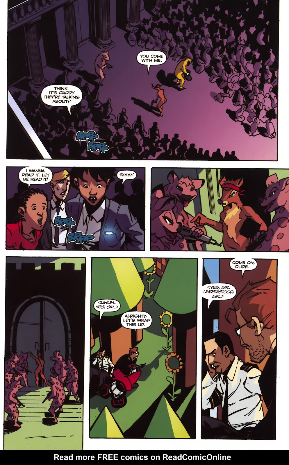 Read online Ricky Rouse Has A Gun comic -  Issue # TPB (Part 2) - 22