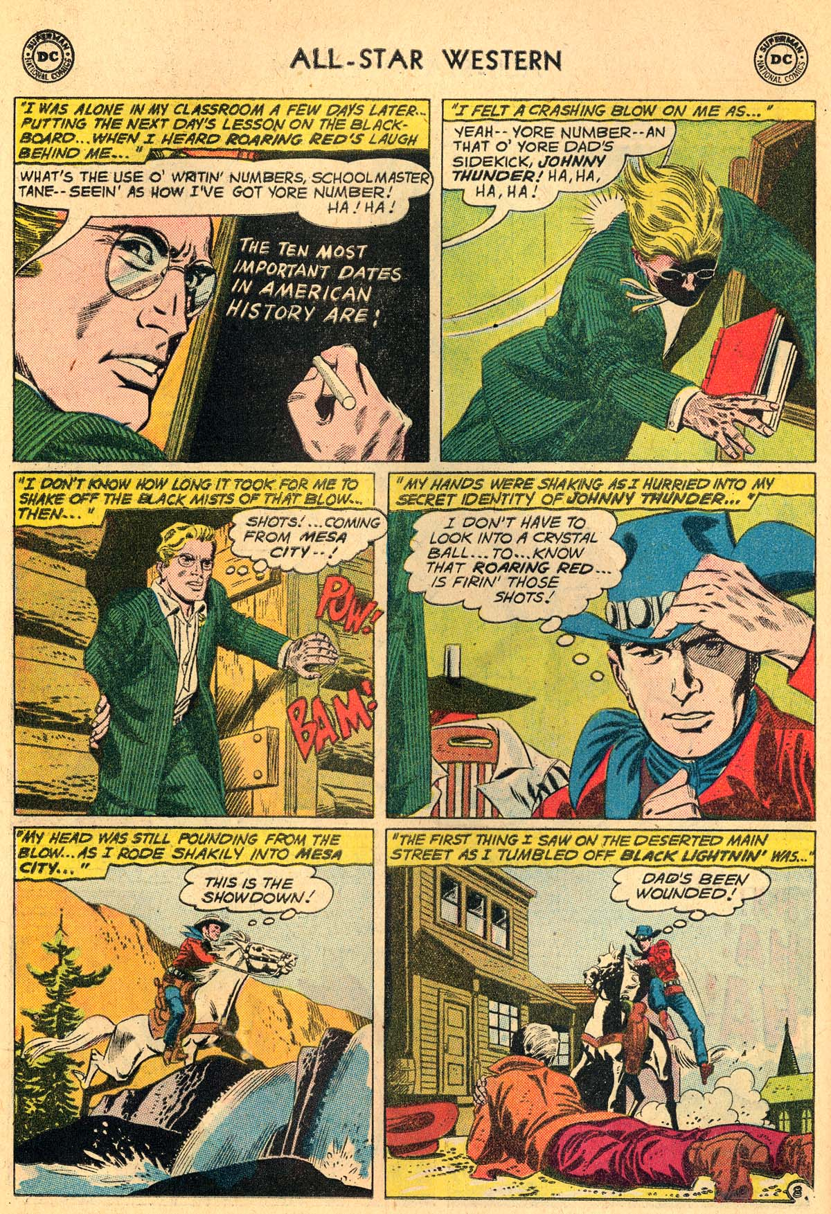 Read online All-Star Western (1951) comic -  Issue #115 - 10