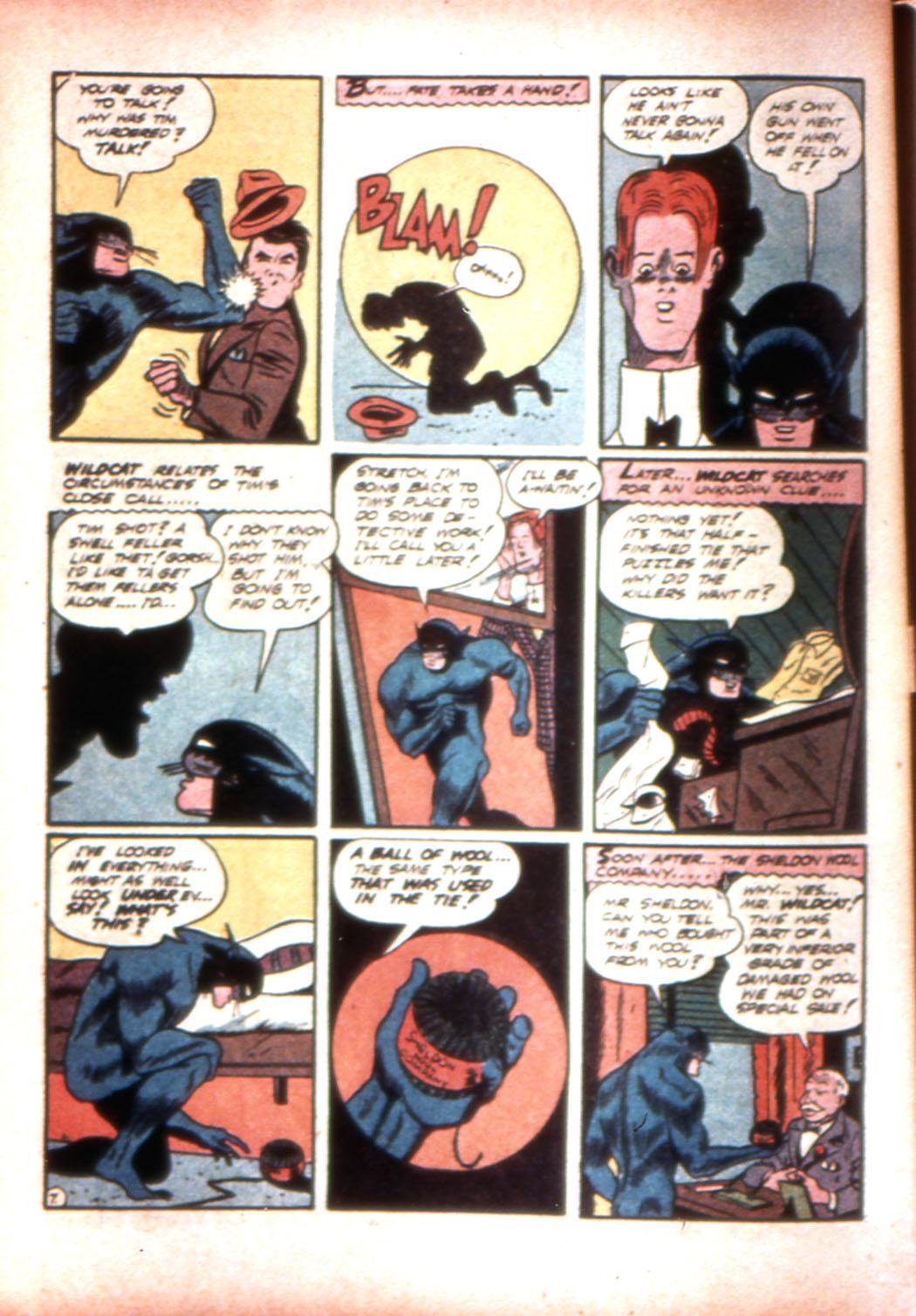 Read online Sensation (Mystery) Comics comic -  Issue #17 - 62