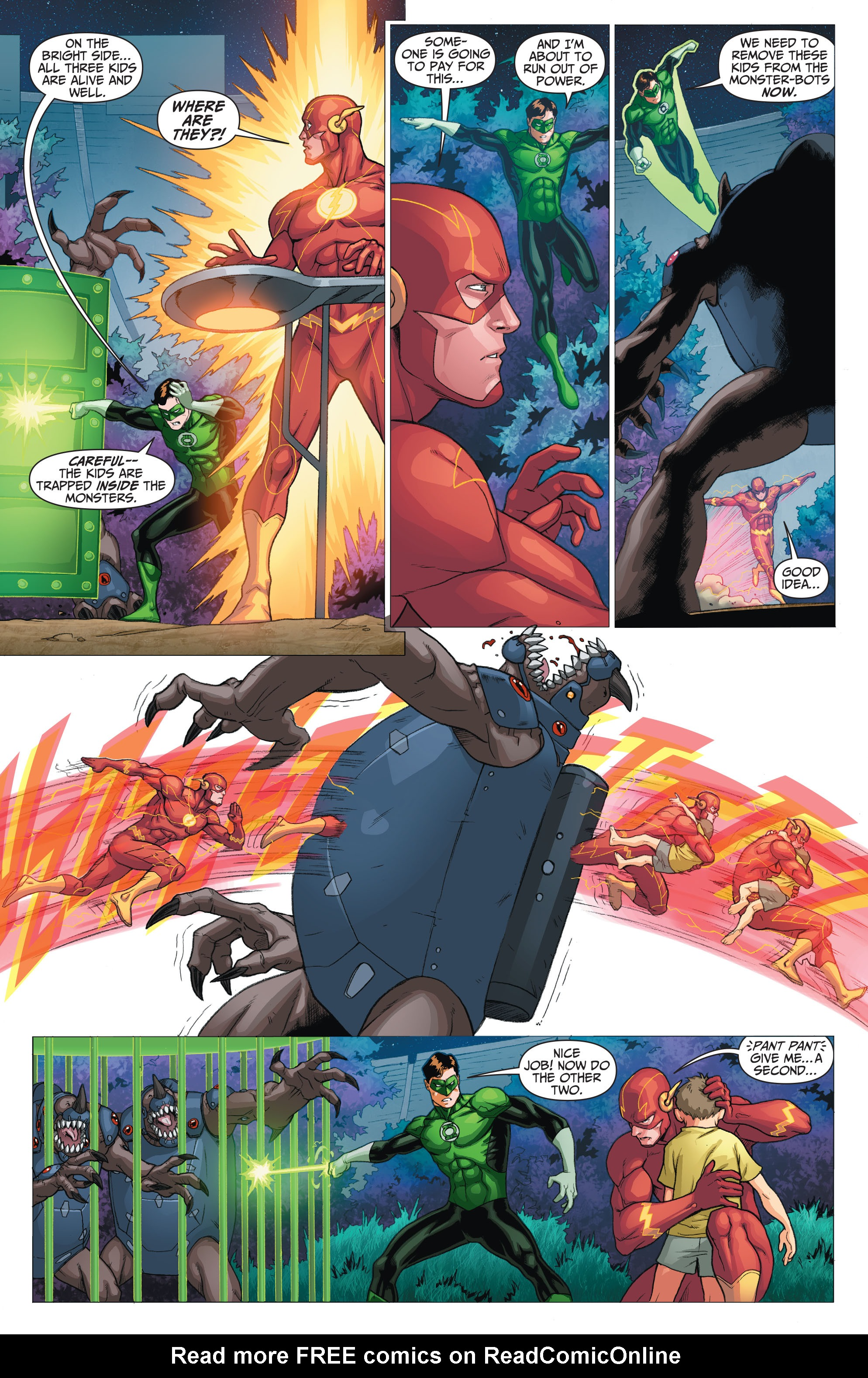 Read online The Flash (2011) comic -  Issue # _TPB 5 - 20