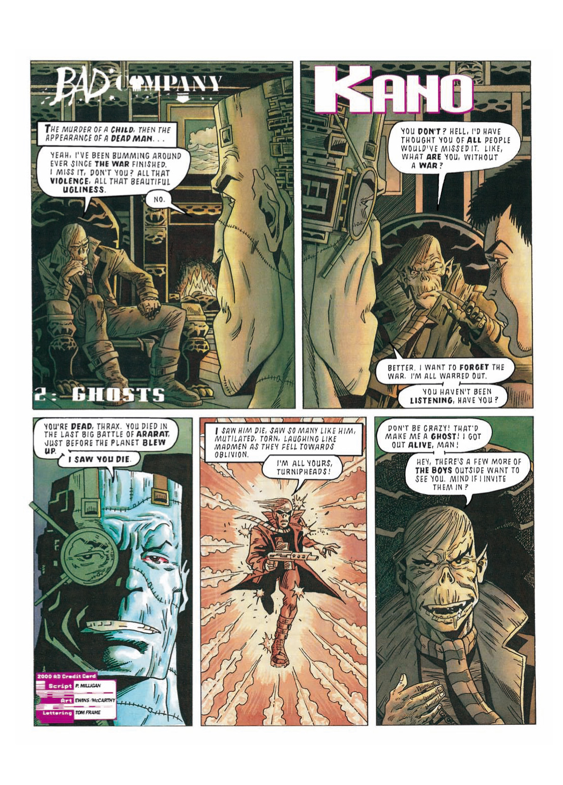 Read online The Complete Bad Company comic -  Issue # TPB - 269