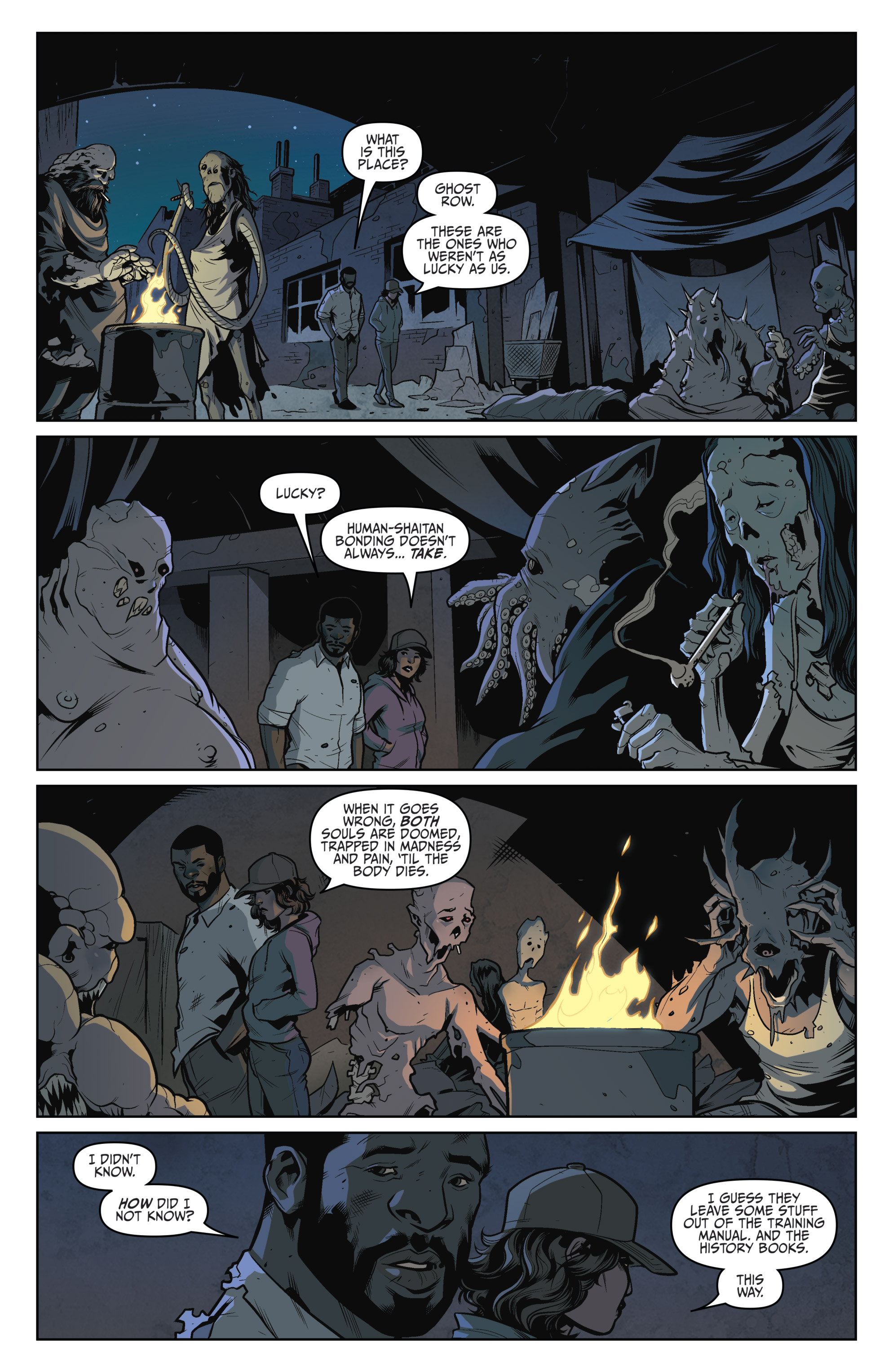 Read online Darkness Visible comic -  Issue #5 - 15