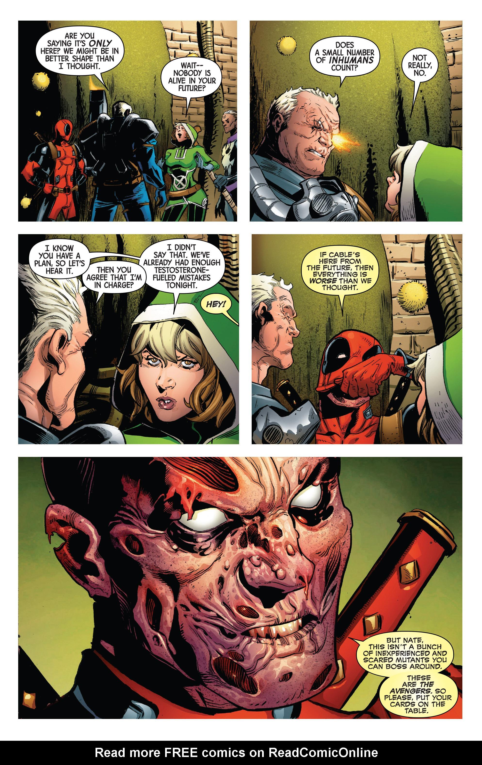 Read online Uncanny Avengers [II] comic -  Issue #3 - 14