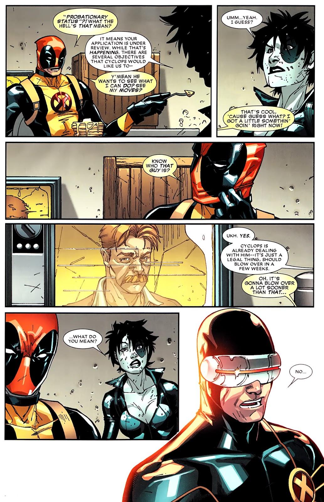 Read online Deadpool (2008) comic -  Issue #16 - 23