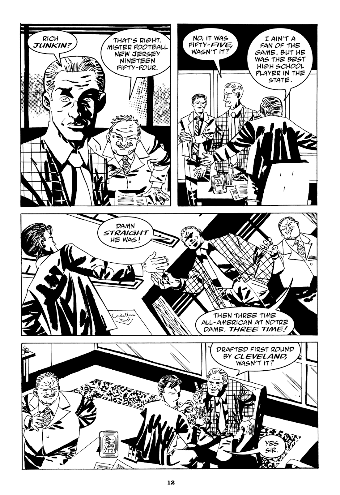 Read online Filthy Rich comic -  Issue # TPB (Part 1) - 14