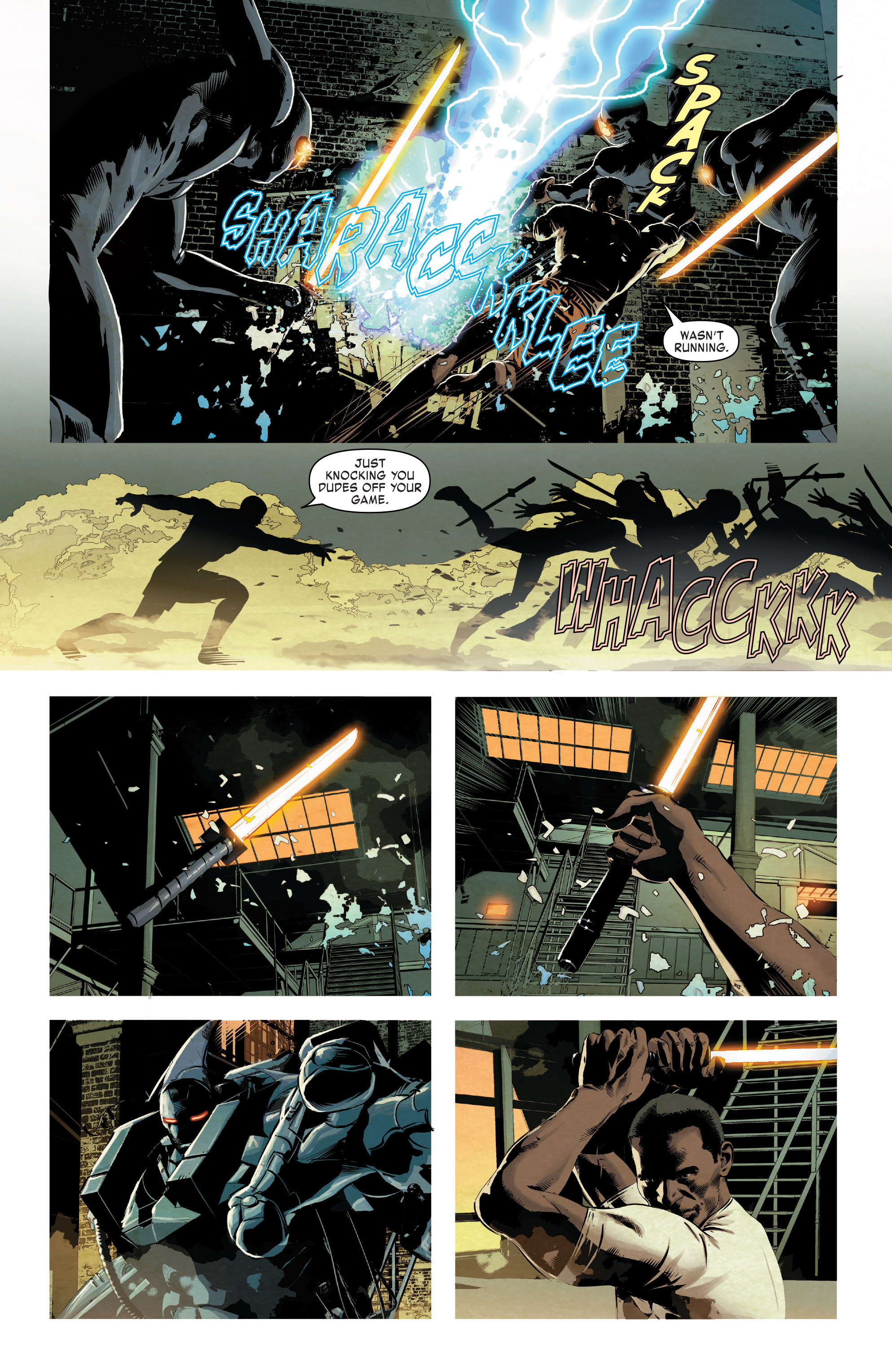 Read online True Believers: Invincible Iron Man-The War Machines comic -  Issue # Full - 54