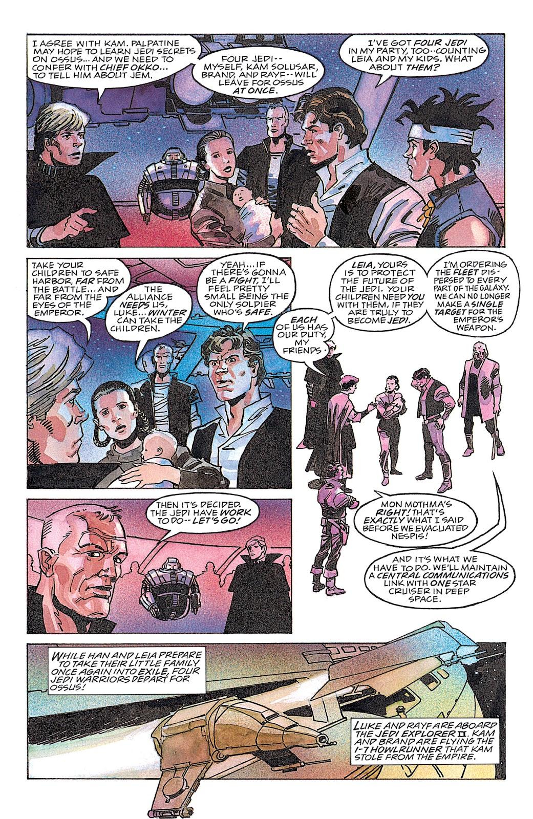 Read online Star Wars: Dark Empire Trilogy comic -  Issue # TPB (Part 4) - 26