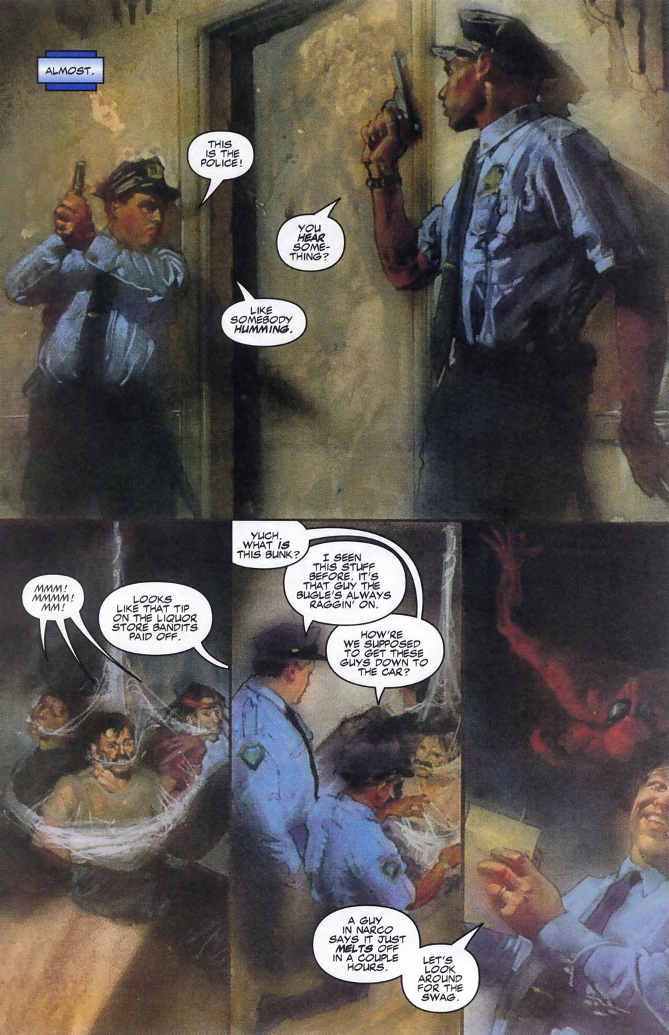 Read online Code of Honor comic -  Issue #2 - 13