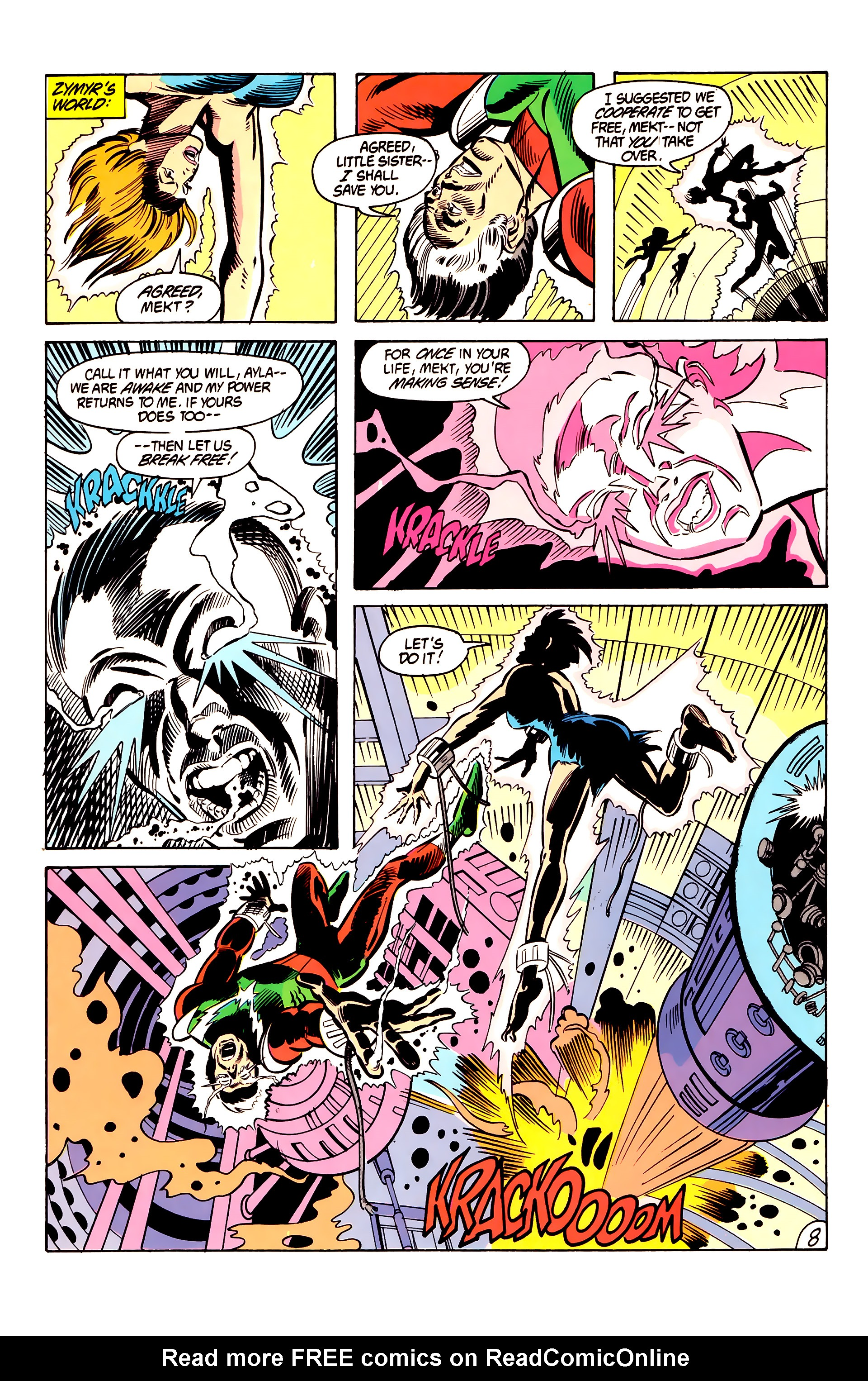 Legion of Super-Heroes (1984) 6 Page 8