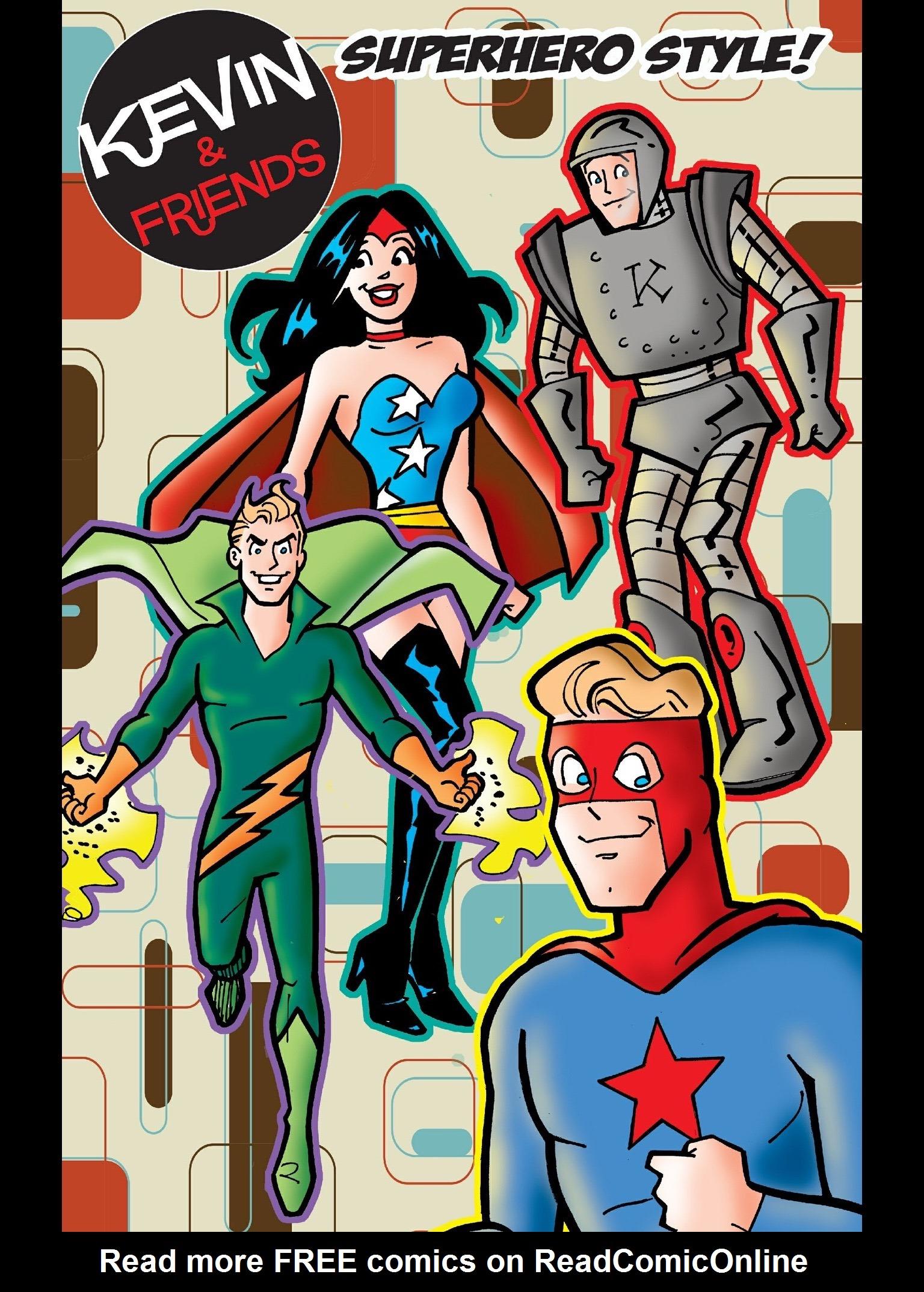 Read online Kevin Keller comic -  Issue #14 - 22