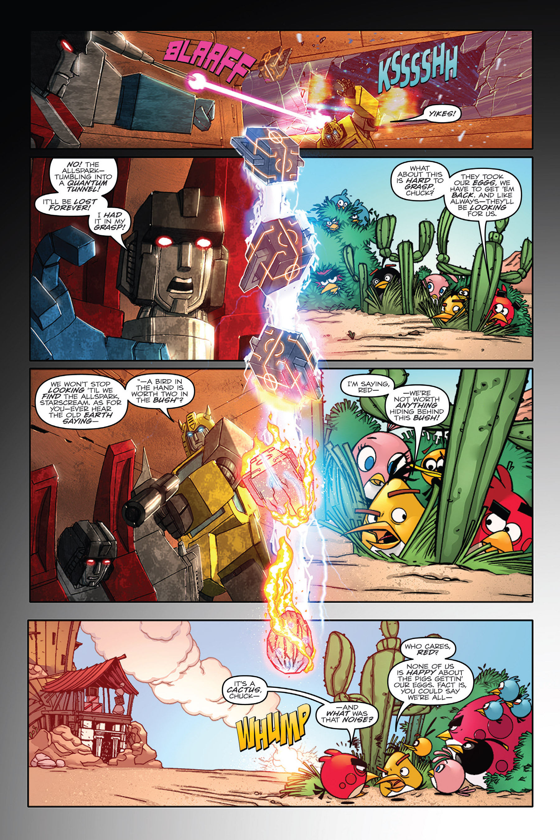 Read online Angry Birds Transformers: Age of Eggstinction comic -  Issue # Full - 10