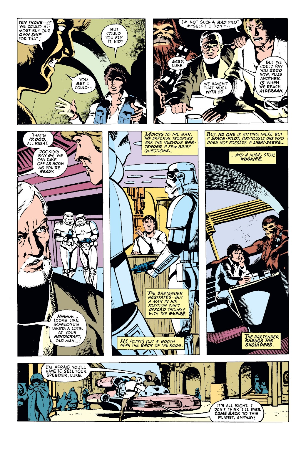 Read online Star Wars Legends: The Original Marvel Years - Epic Collection comic -  Issue # TPB 1 (Part 1) - 35
