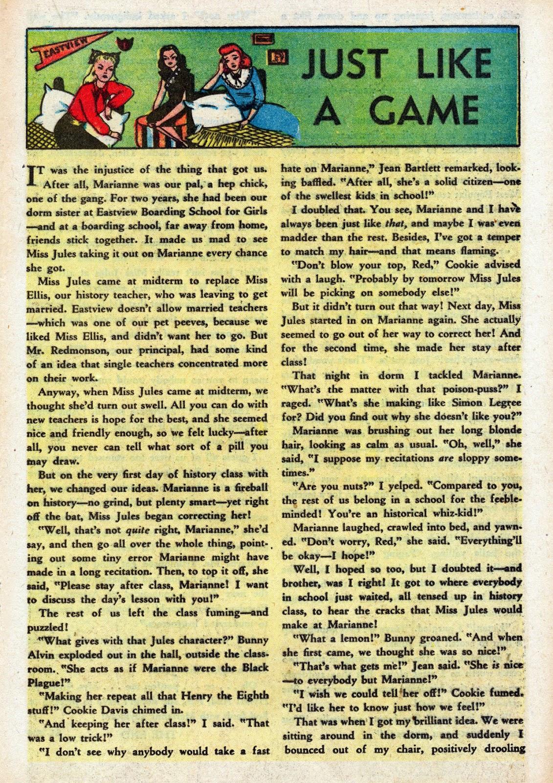 Read online Comedy Comics (1948) comic -  Issue #3 - 21