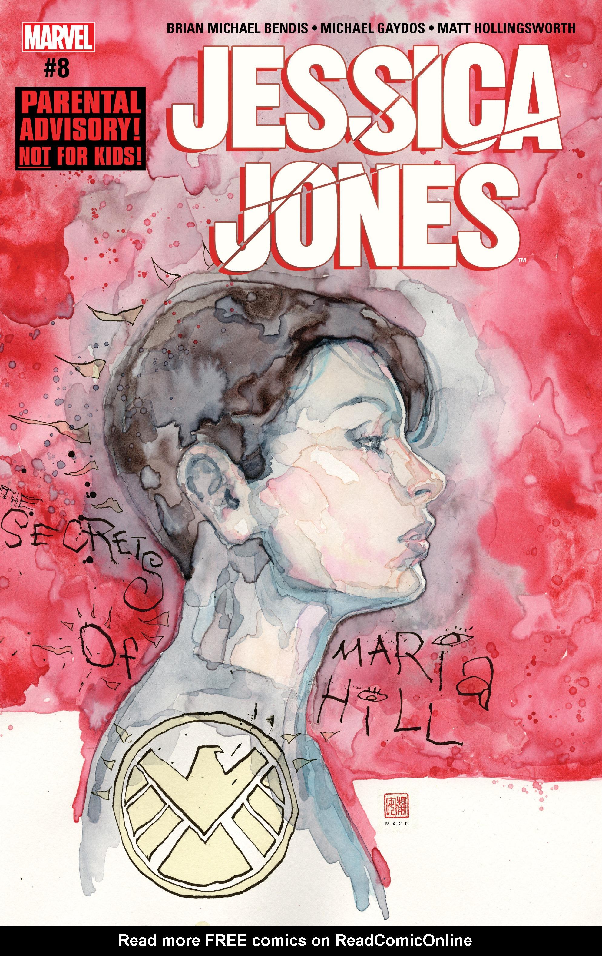 Read online Jessica Jones (2016) comic -  Issue #8 - 1
