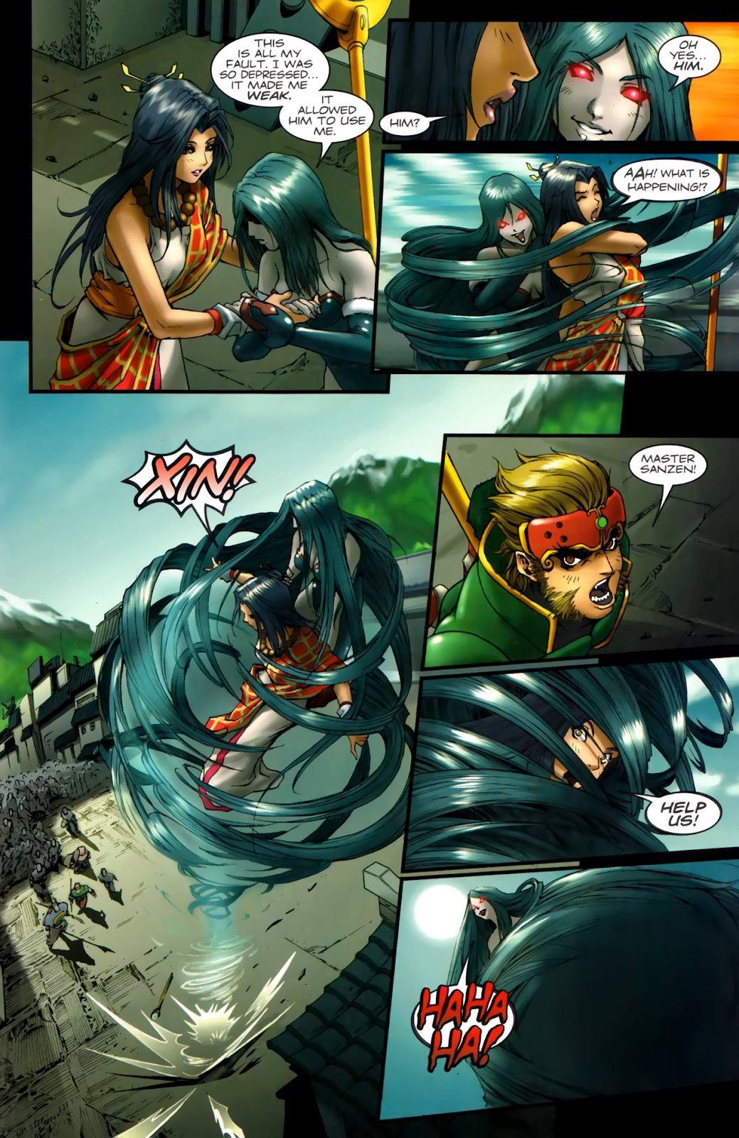Read online Xin: Journey of the Monkey King comic -  Issue #2 - 24