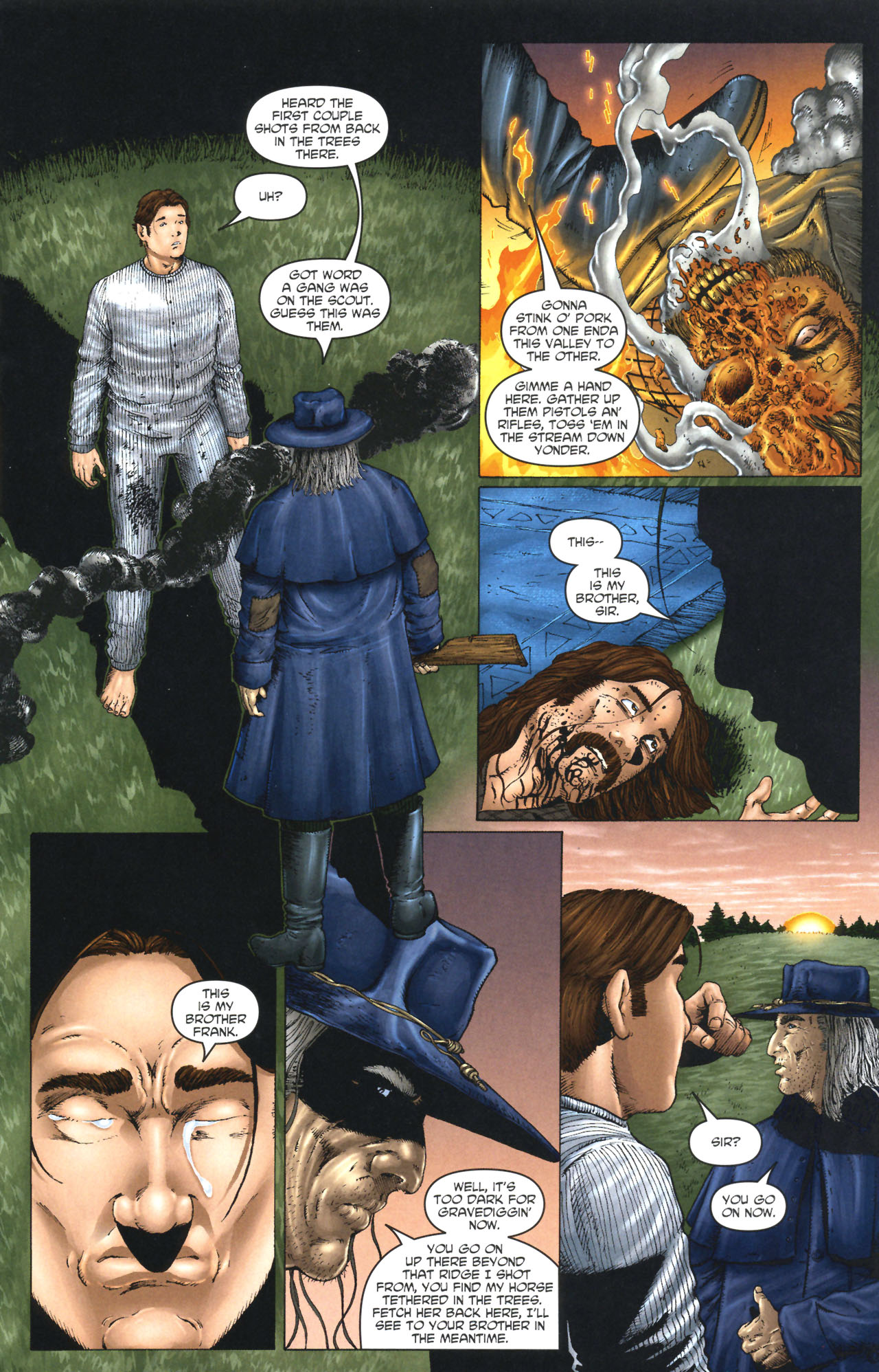 Read online Garth Ennis' Streets of Glory comic -  Issue #1 - 17