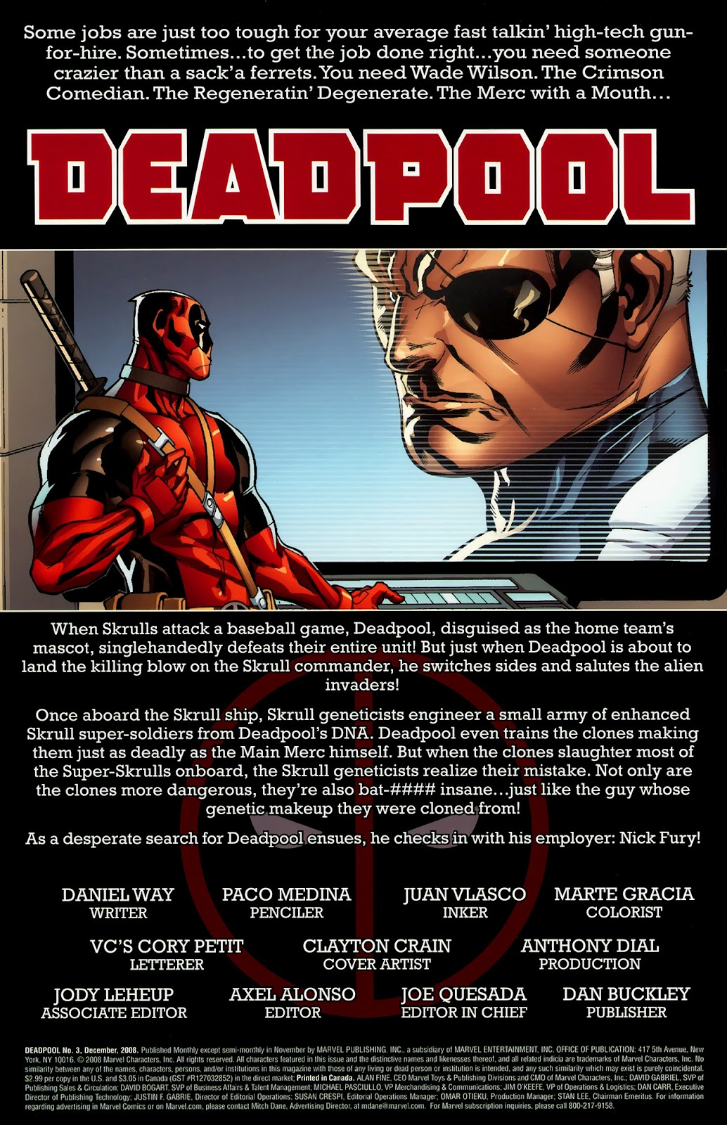 Read online Deadpool (2008) comic -  Issue #3 - 2
