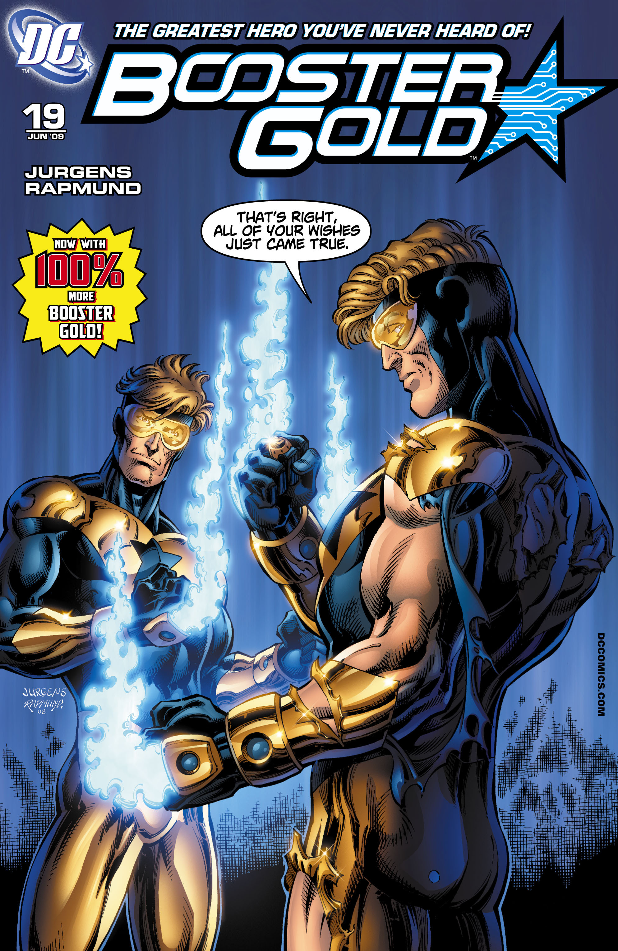 Booster Gold 2007 Issue 19