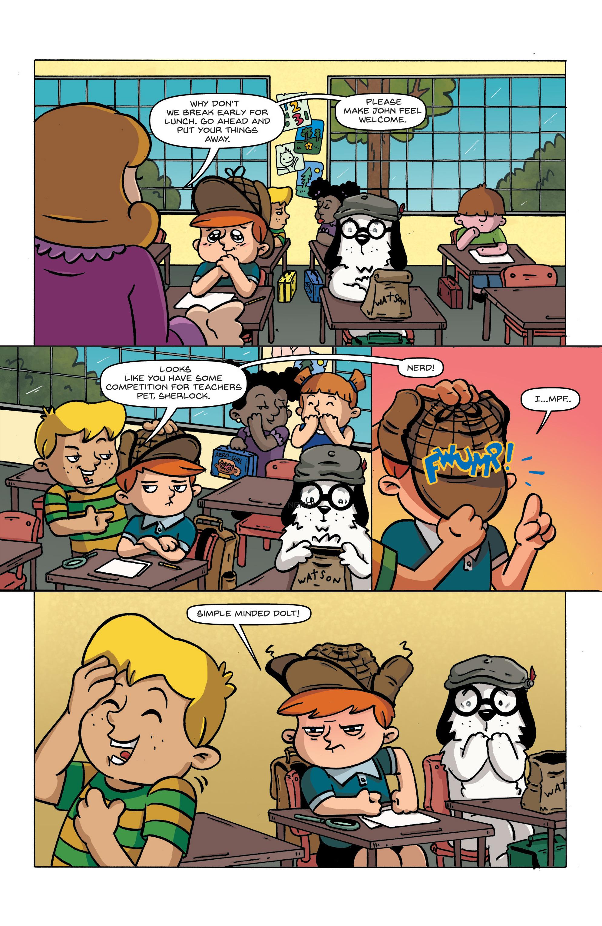 Read online Kid Sherlock comic -  Issue #1 - 6