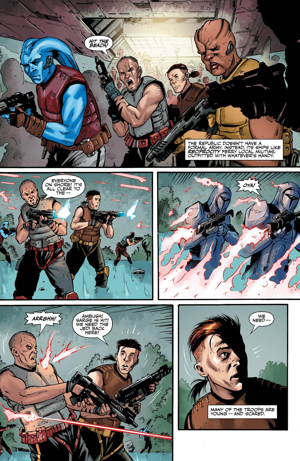 Read online Star Wars Legends: The Old Republic - Epic Collection comic -  Issue # TPB 3 (Part 4) - 4