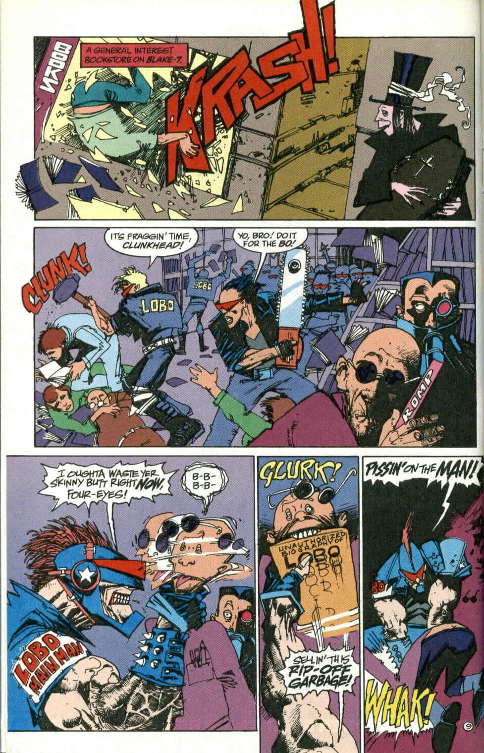 Read online Lobo (1990) comic -  Issue #1 - 10