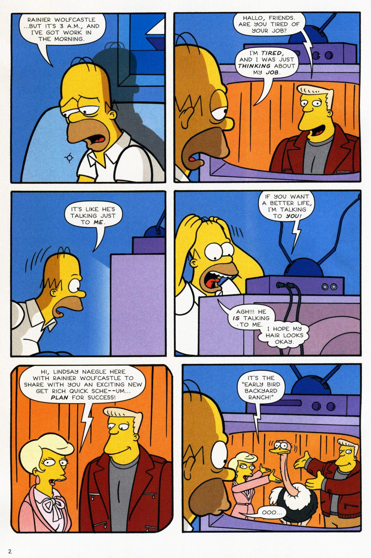 Read online Simpsons Comics comic -  Issue #139 - 3