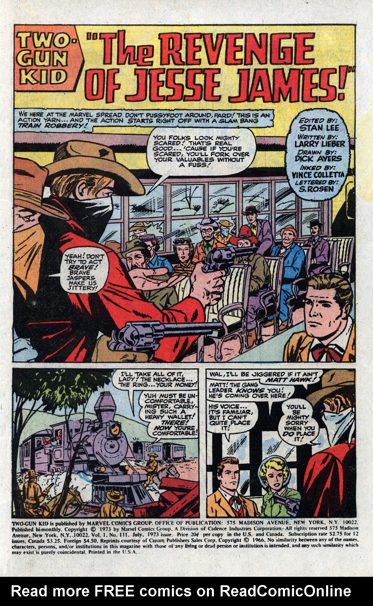 Read online Two-Gun Kid comic -  Issue #111 - 3