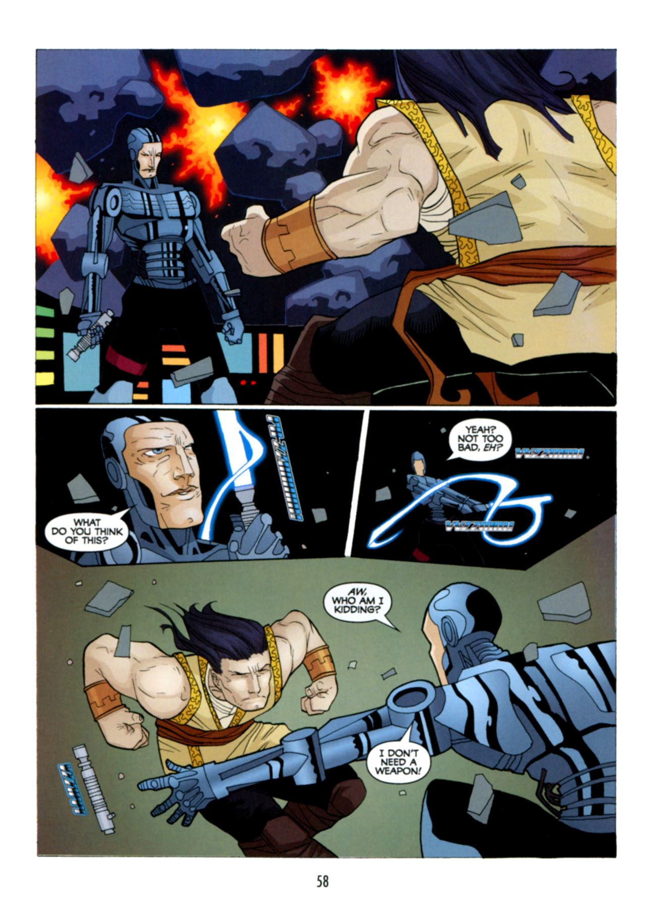 Read online Star Wars: The Clone Wars - Deadly Hands of Shon-Ju comic -  Issue # Full - 59