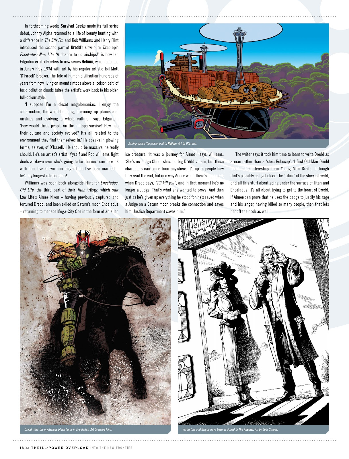 Judge Dredd Megazine (Vol. 5) Issue #381 #180 - English 18