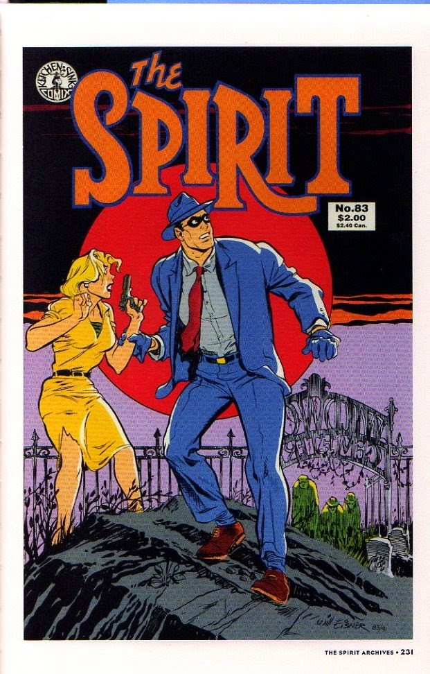 Read online Will Eisner's The Spirit Archives comic -  Issue # TPB 26 (Part 3) - 38