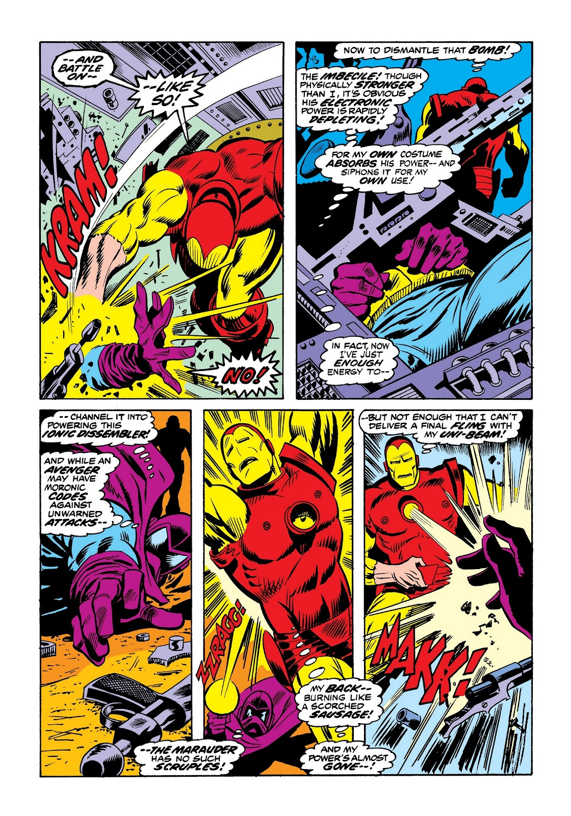Read online Marvel Masterworks: The Invincible Iron Man comic -  Issue # TPB 9 (Part 2) - 69