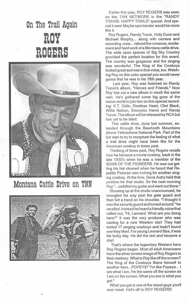 Read online Roy Rogers comic -  Issue #4 - 4
