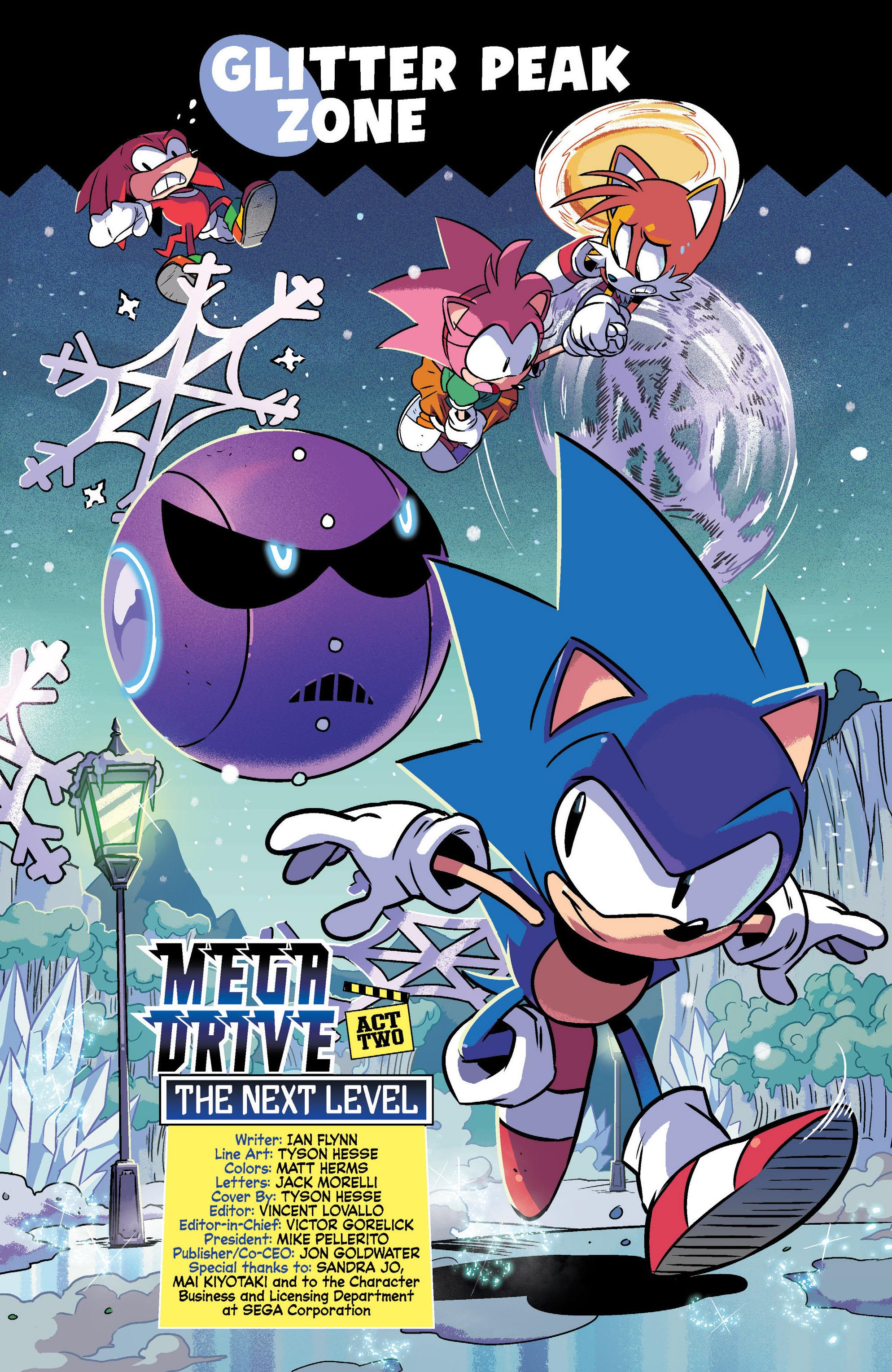 Read online Sonic Mega Drive: Next Level comic -  Issue # Full - 3