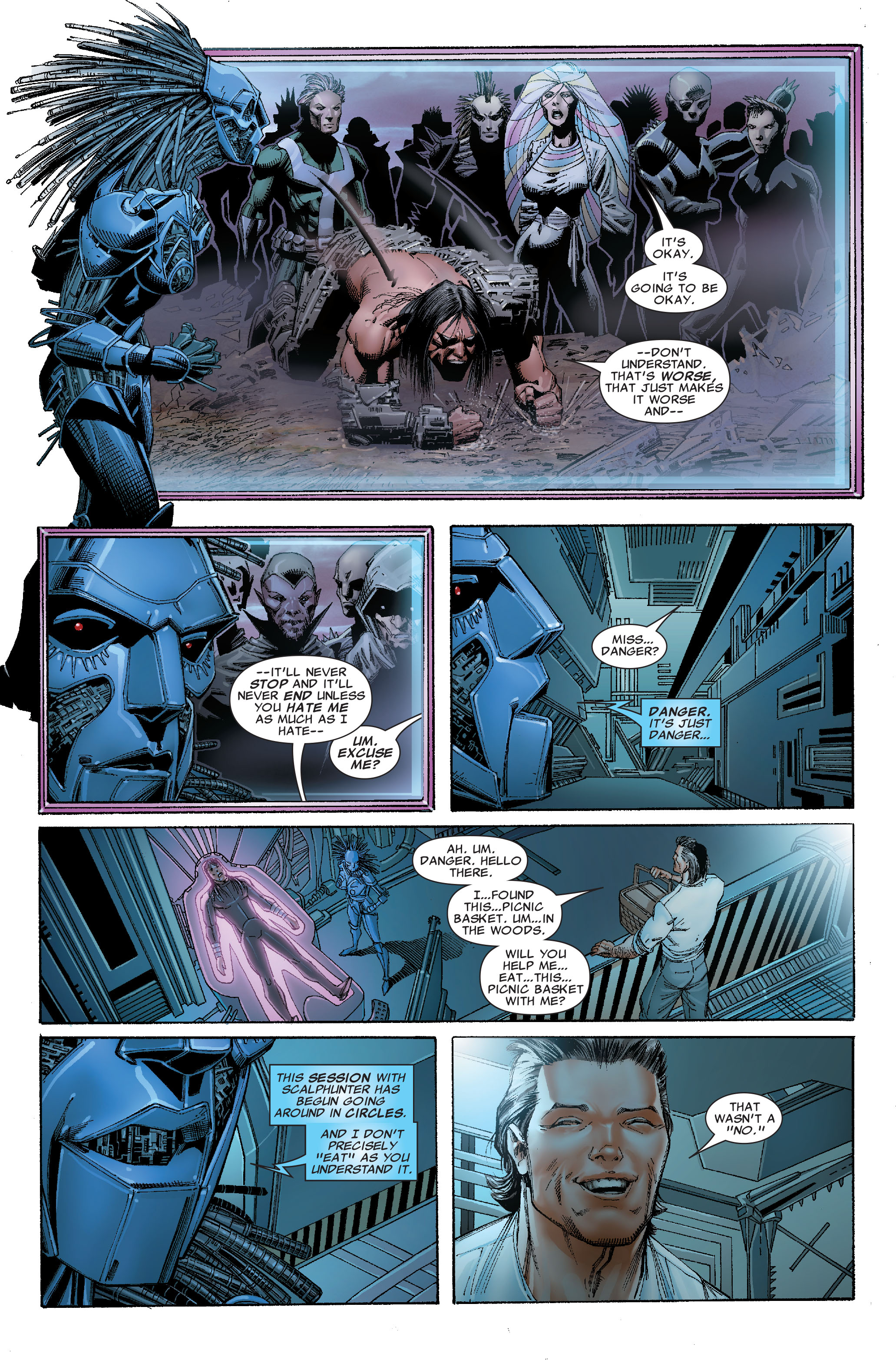 Read online Uncanny X-Men (1963) comic -  Issue #529 - 14