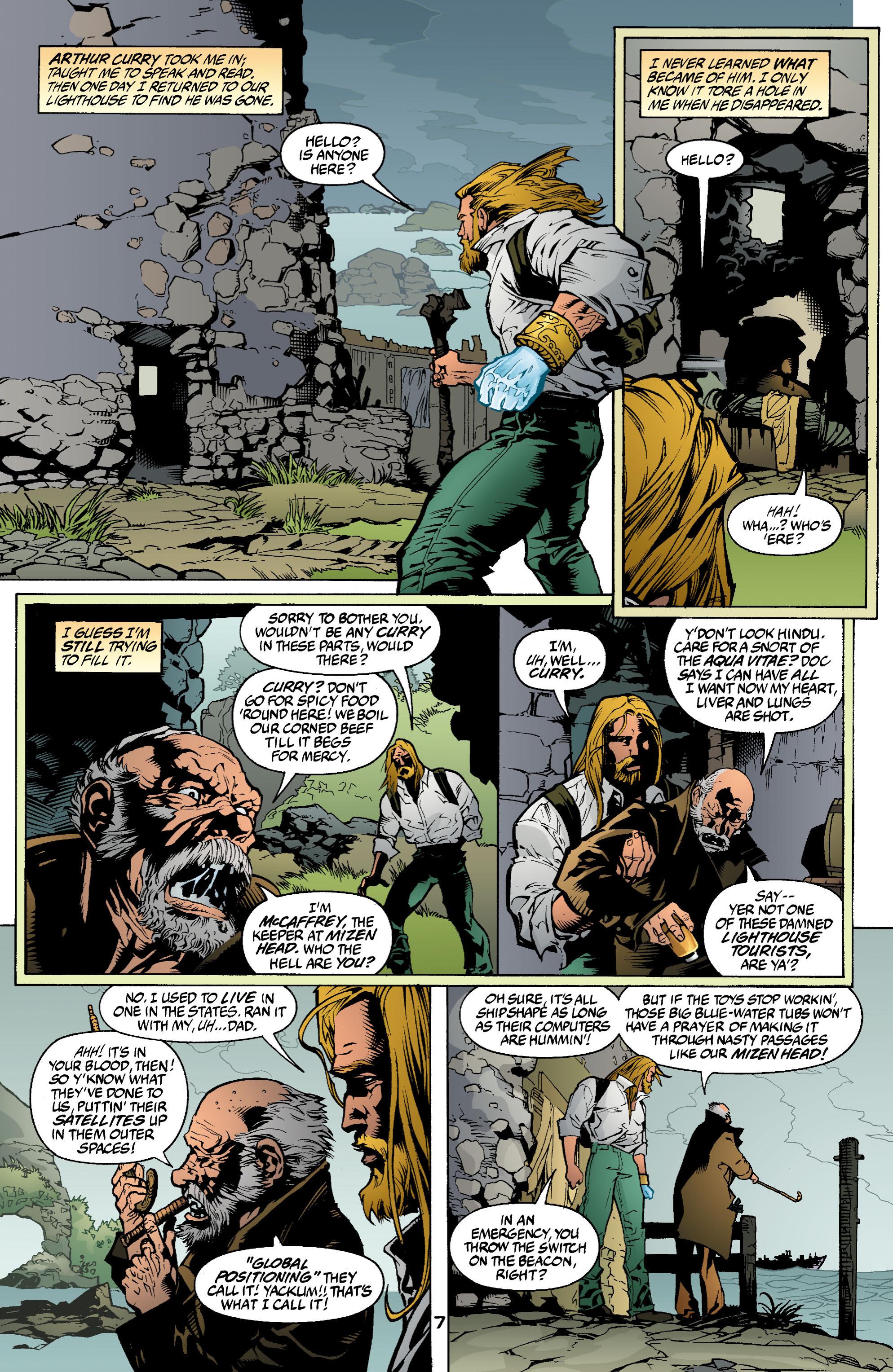 Read online Aquaman (2003) comic -  Issue #2 - 8