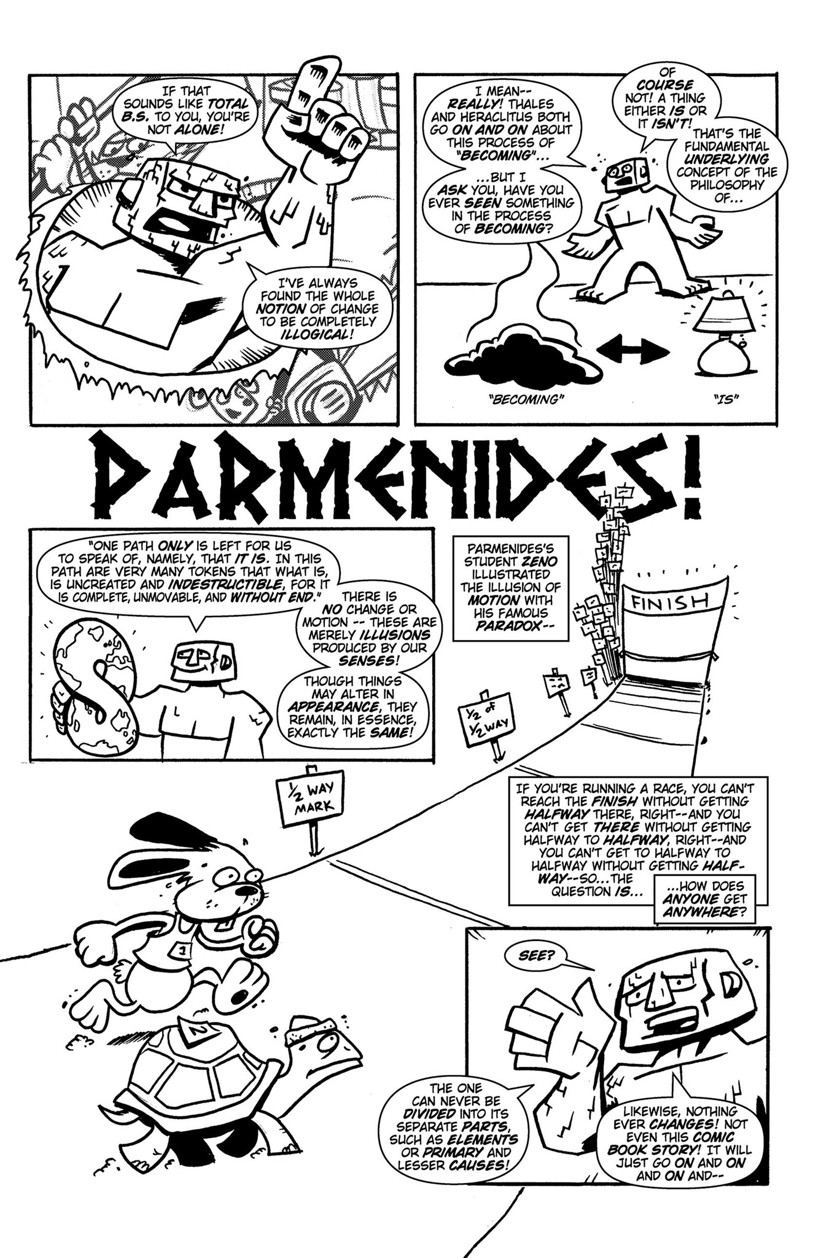 Read online Action Philosophers! comic -  Issue #Action Philosophers! TPB (Part 1) - 18